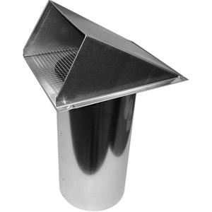 6 15 2cm Dia Plastic Galvanized Aluminum Intake Vent Hoods