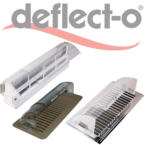 Plastic Air Deflectors For Heating