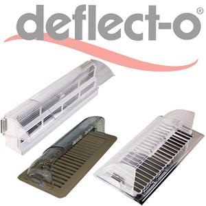 Furnace Vent Deflector